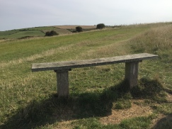Jim Frost's bench